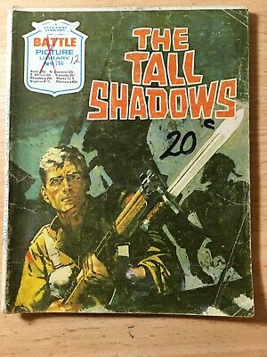 "Fleetway Battle Picture Library Comic # 716 From 1973. ""The Tall Shadows"""