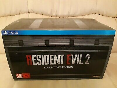 Resident Evil 2 Remake Collector's Edition PS4 UK PAL EU
