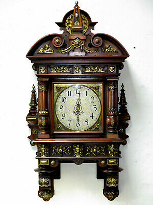 Pendule LENZKIRCH wall clock germany  wand uhr collection 1886