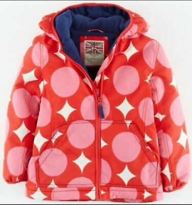 NEW ex Mini Boden Hooded thick Winter Coat  3-4Y Brand New