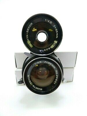 Mamiya TLR 55MM F4.5 Wide Angle Lens for all Mamiya Twin Lens Reflex in EC