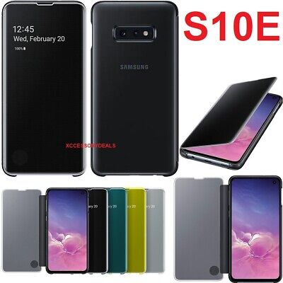 Original Samsung Clear View Flip Case Galaxy S10E smart phone cover sm g970