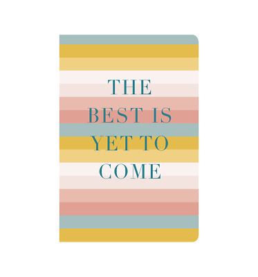 A5 Academic Dary Week to View Colourful Stripes Mid Year Planner 2019 - 2020