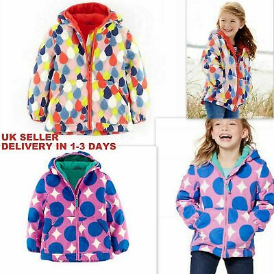 +NEW ex Mini Boden Hooded thick Winter Coat  3-4Y Brand New