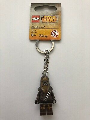 Lego Star Wars Chewbacca Key Ring// Key Chain Brand New 853451