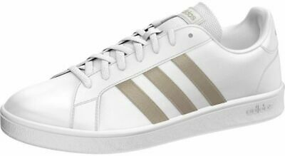 Adidas Grand Court Base Sneakers White Shoes For Women Size 8.5