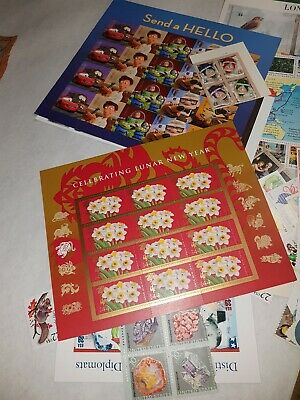 $238 Face Value Mint U.S. Discount Postage Stamps