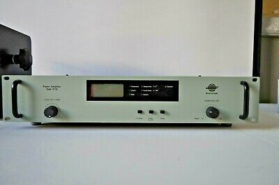 Brüel & Kjær 2732 Power Amplifier + cable. Working & perfect condition.