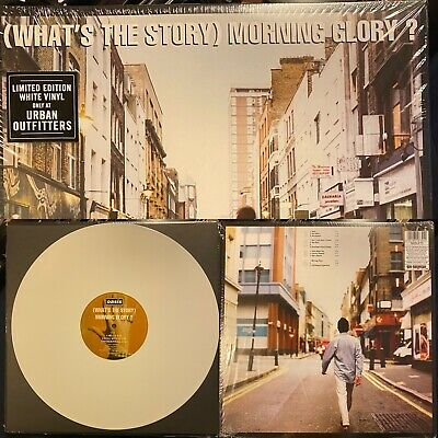 OASIS What's The Story Morning Glory? 2xLP on WHITE VINYL Gallagher