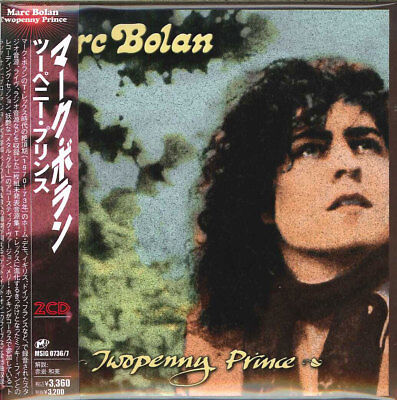 Marc Bolan-Two-Penny Prince-Import 2 CD con Japan Obi H40