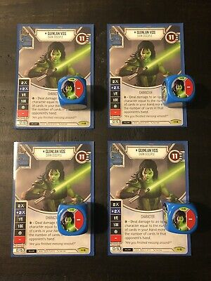 x2 Start Your Engines 137 Uncommon Star Wars Destiny Way of the Force M//NM