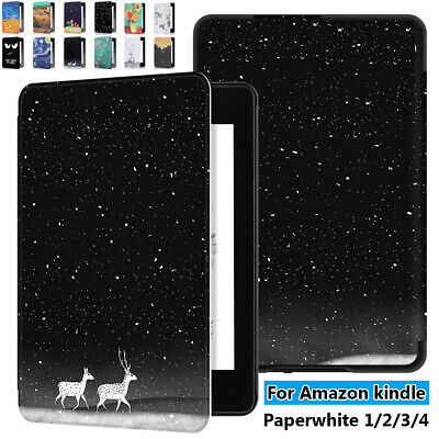 Shell e-Books Reader Smart Case Magnetic Cover For Kindle Paperwhite 1/2/3/4