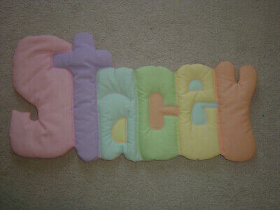 """Baby Kids Personalized Wall Hanging With The Name """"Stacey"""""""