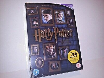 Harry Potter Films DVD Collection Box Set with Embossed Cover