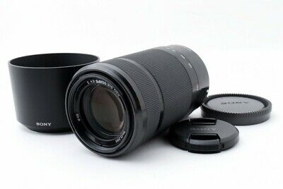 SONY SEL55210 55-210mm f/4.5-6.3 Aspherical IS OSS Black [Exc+++] w/Hood [714]