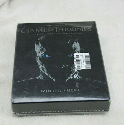 Game of Thrones Staffel 7 DVD 2017 5-Disc Set mit Bonus DVD ENGLISCH NEU