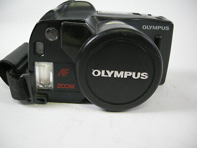 Olympus Infinity SuperZoom 300 35mm film camera with 35-105 lens