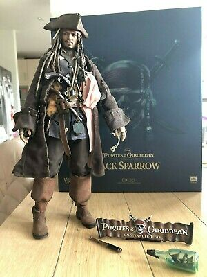 Hot Toys DX06, Jack Sparrow, Pirates of the Carribean on stranger tides, 1/6
