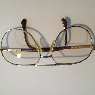 DIETZ & LEGORJE STATEMENT BRILLE 14 Kt. GOLD 90er