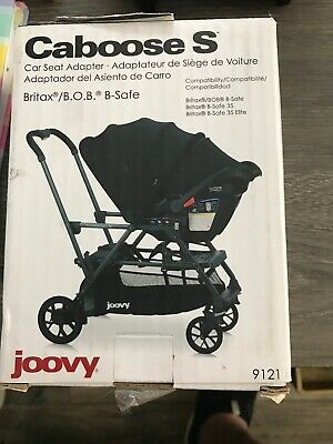 Joovy Caboose S Car Seat Adapter -Fits Graco/Chicco
