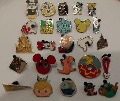 Disney Trading Pins-25 Assorted Pins-No Doubles-Fast Shipping