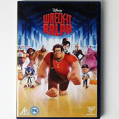 Wreck-It Ralph (DVD, 2013 Disney Studios) 51st Animated Classic - Yellow Oval