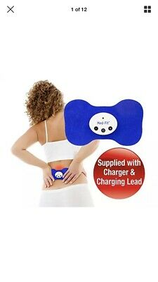 Med-Fit® Wireless Rechargeable Mini TENS And Muscle Stimulator-Treats Back Pain,