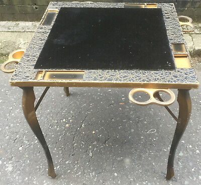 Art Deco Folding Bridge / Games / Card Table