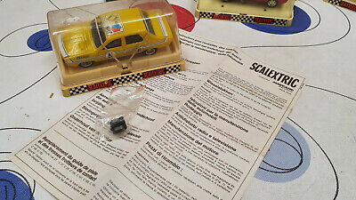 Renault 12 Gordini Amarillo Scalextric Made In France Scalextric 1/32 New Boxed