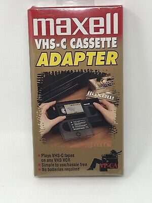 Maxwell VHS-C Cassette Adapter VP-CA - Sealed