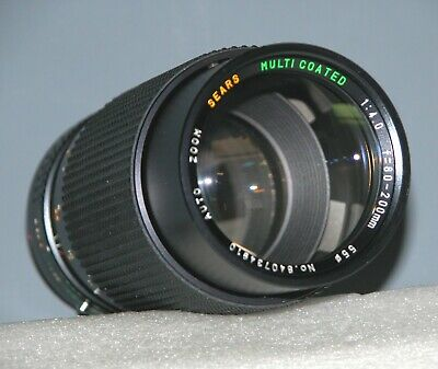 Sears Auto Zoom 80-200mm 1:4 Macro Lens FD Mount - Test Images on Canon 30D