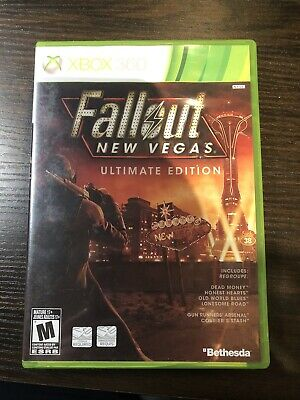 Fallout: New Vegas -- Ultimate Edition (Microsoft Xbox 360 - One, 2012)
