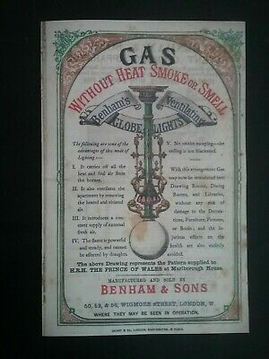 Victorian Adverts Booklet ***(See Photo's) ***(See Description For Details)***