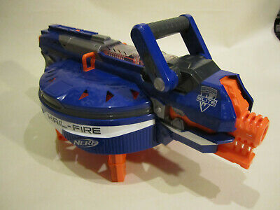 Nerf Hailfire + clips batteries and darts Nurf gun Elite Nstrike Modulus