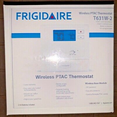 Frigidaire Wireless PTAC Thermostat T631W-2 Non Programmable
