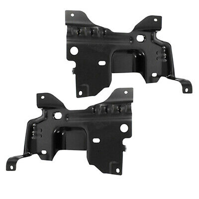 For 2004-2006 FORD F150 PICKUP FRONT BUMPER MOUNTING PLATE LOWER BRACKET 4PC SET