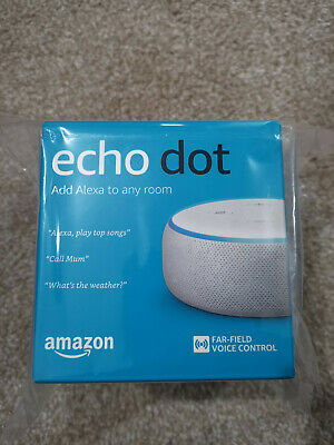 Cash on collection Only (BL3) - Amazon echo dot 2019 (3rd Gen) White RRP £50