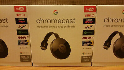 Cash on Collection Only in Bolton - NEW SEALED - Google Chromecast 🌍 BNIB