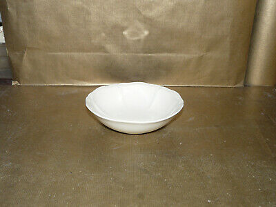 wedgwood queens ware queens plain / queens shape oatmeal / cereal bowl 6.25""