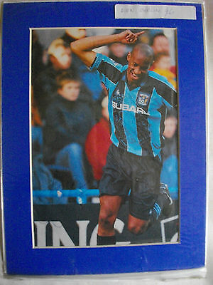 Dion Dublin Autographed Mount Coventry Fc