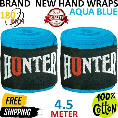 """New Ringside Mexican Style Boxing MMA Handwraps Hand Wrap Wraps 180/"""" Purple"""