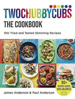 Twochubbycubs The Cookbook By James Anderson  & Paul Anderson Hardcover NEW