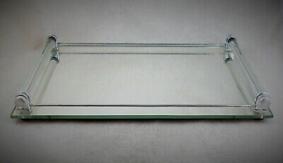 Antique French Art Deco Mirrored Cocktail Drinks Tray 1920s / 30s original