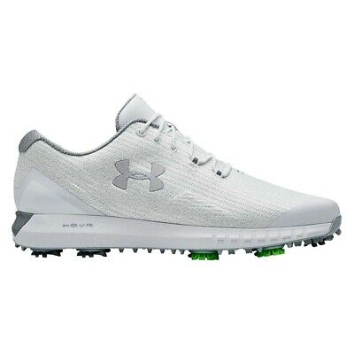 NEW Under Armour Mens HOVR Drive Woven UA Golf Shoes White - Choose Your Size