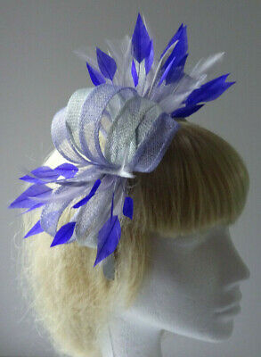 Purple lilac fascinator headband for wedding/mother of the bride/Ladies Day