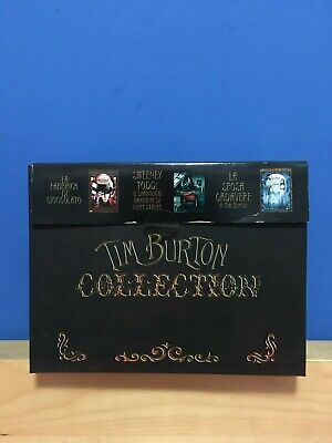 Tim Burton's Musical Box - Limited Edition - 6 DVD - Fuori Catalogo