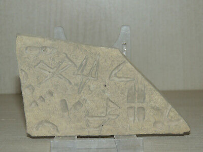 Ancient Stone Tablet With Cuneiform Graffiti Scriptures,Symbols,Drawings