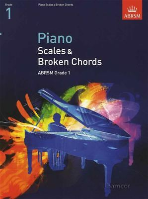 Piano Scales & Broken Chords ABRSM Grade 1 Exam Music Book