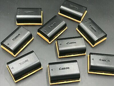 TWIN PACK Genuine Canon LP-E6 LPE6 Rechargeable 1800mAh Li-Ion Camera Battery