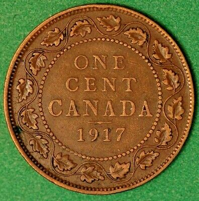 Canada George V One Cent 1917